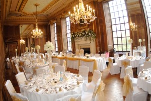 The Ballroom at Gosfield Hall