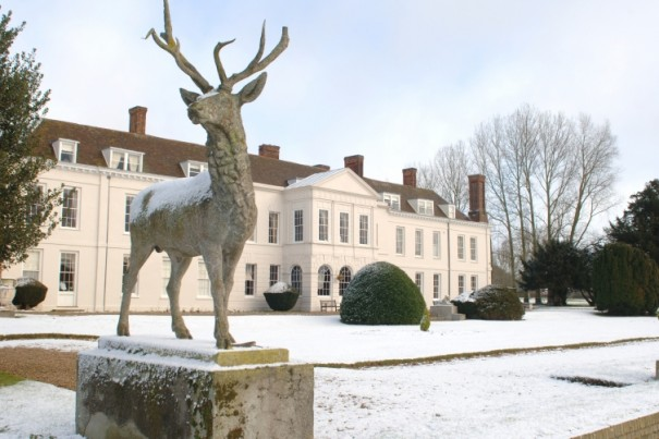 The Stags in Winter at Gosfield Hall
