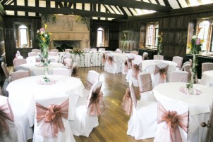 The Great Hall at Leez Priory