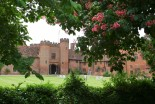 The Courtyard at Leez Priory in Summer