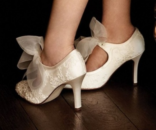 Depending on the theme of your dress and day you can get some amazing styled shoes, whether you are going for a vintage look, glitz and glam, designer style