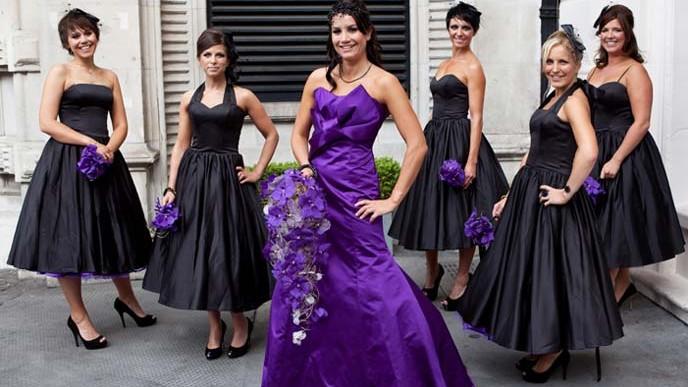 Unusual Coloured Wedding Dresses Uk 47