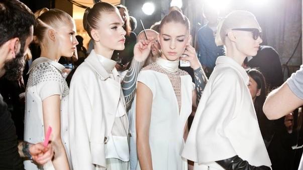 Fashion Week in London Backstage. Temperley London 2013-14 1