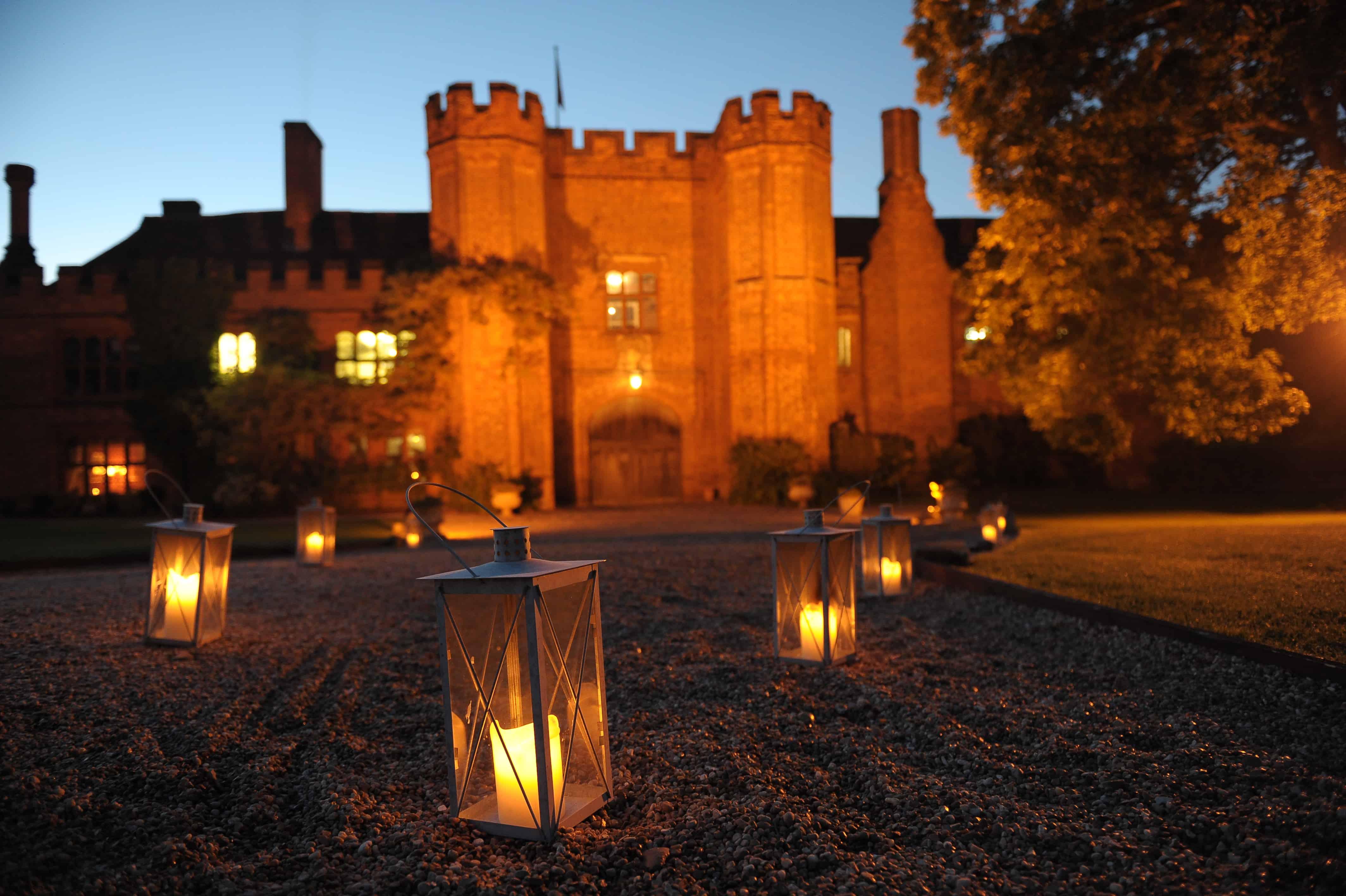 Candlelit at Night
