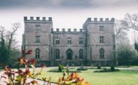 Clearwell Castle in Autumn