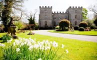 Clearwell Castle in the summer