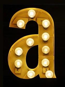 letter light