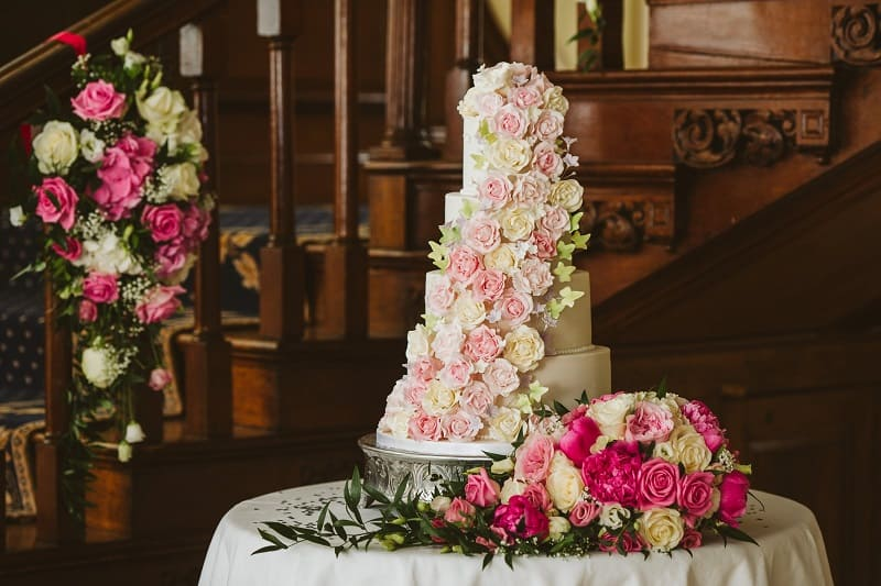 Wedding Cake at Gosfield